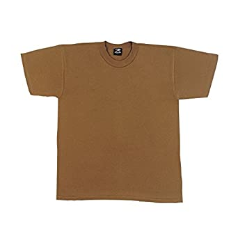 100% Cotton T-Shirt Brown - Size Small