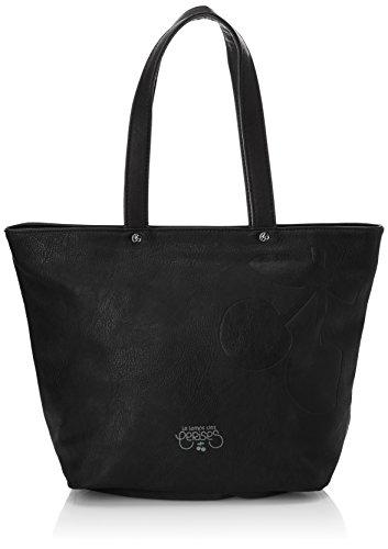 Le Temps des Cerises - Elegance 2, Borsa a tracolla da donna, nero (noir 0126), Taille Unique