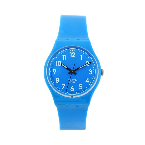 Swatch Men's GS138 Swatch Baby Blue Dial Watch