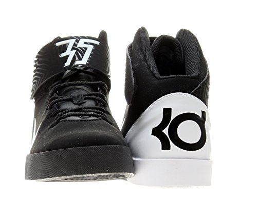 pictures of Nike KD Vulc Mid (GS) Boys Basketball Shoes 685495-001 Black