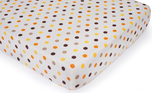 Carter's Fitted Crib Sheet, Sunny Safari (Discontinued by Manufacturer)