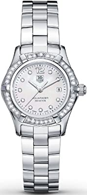 TAG Heuer Women's WAF1416.BA0824 Aquaracer Swiss-Quartz Diamond Mother-Of-Pearl Dial by TAG Heuer