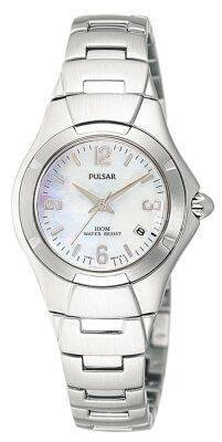 Pulsar PXQ 481 P1 Mother of Pearl Ladies watch
