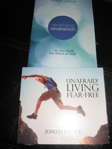 unafraid and living fear free 2 cd audio book audio cd jan 01 2011 joseph prince