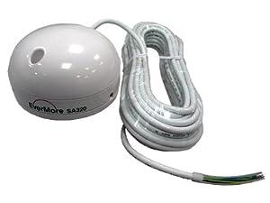 Evermore SA-320 seriell: Marine 12 Kanal GPS Satelliten Empfänger SA 320 mit RS-232 Interface für iCom Marine Radio VHF UKW Empfänger: IC-M411 IC-M603 IC-M505 IC-M801E IC-M421 für 9 - 24 Volt. Anschließbar mit offenen NMEA Datenkabel