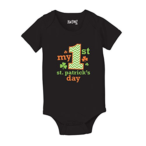 My First 1st Saint Patrick's Day Shamrock Lucky Cute - Baby One Piece