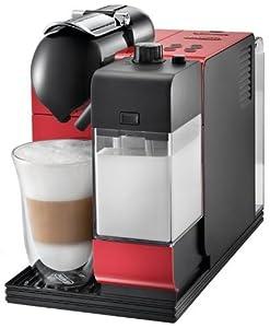 Delonghi EN520.R Nespresso Lattissima Plus Coffee Maker - Red