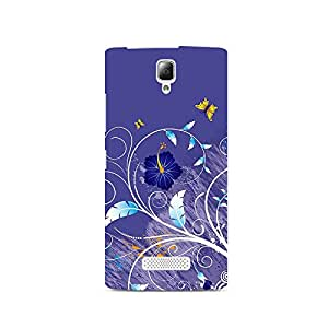 TAZindia Printed Hard Back Case Cover For Lenovo A2010