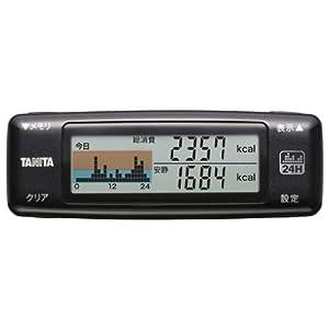 タニタ(TANITA) 活動量計 カロリズム AM-120-MB メタリックブラック