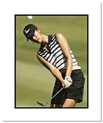 Michelle Wie PGA Golf Double Matted 8x10 Photograp