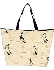 Snoogg Music Strings Designer Waterproof Bag Made Of High Strength Nylon - B01I1KHSLO