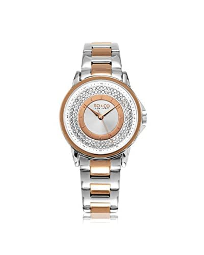 SO&CO Women's 5219.6 Madison Stainless Steel Watch