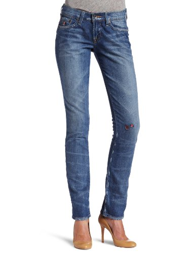 Lucky Brand Womens Legend Sweet N Straight Jean, Ol' Comeback Wash, 29