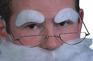Santa-Halbmondbrille