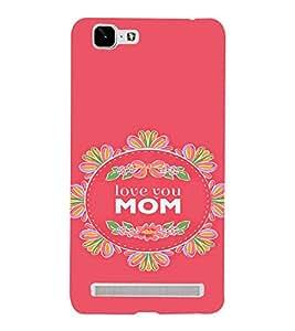 PrintVisa Mom Mother Quotes Design 3D Hard Polycarbonate Designer Back Case Cover for VivoX5MAX