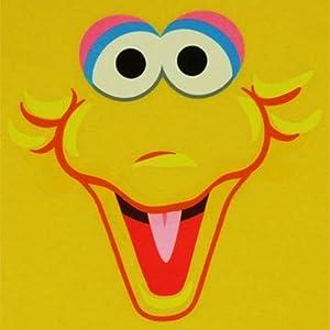 【生産終了超レアアマゾン在庫】ユース◆セサミストリート ビッグバードTシャツ Big Bird Face エルモ クッキーモンスター