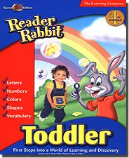 READER RABBIT BABY AND TODDLER