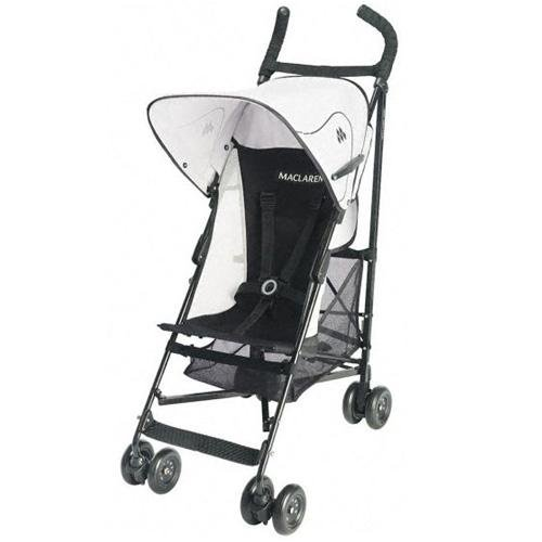 Maclaren Volo Stroller in Black/White