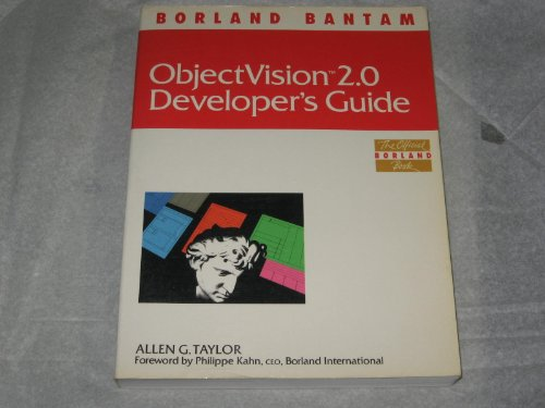 OBJECTVISION 2.0 DEVELOPER'S GUIDE
