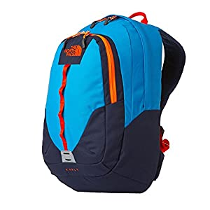The North Face Vault Backpack Quill Blue/Power Orange OS