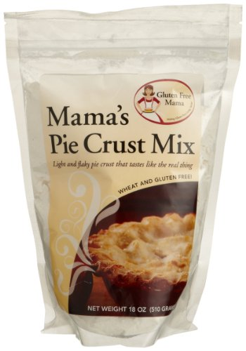 Mama's Gluten-Free Pie Crust Mix, Gluten-Free 18 oz. (Pack of 6)