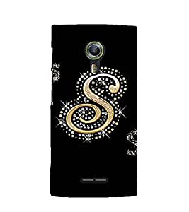 Printvisa Premium Back Cover Decorated S Alphabet Design For Alcatel Onetouch Flash 2::Alcatel One touch Flash 2