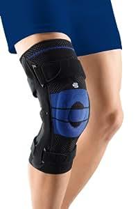 Bauerfeind Genutrain S Pro Black Knee Support, Right, 1
