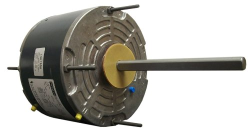 Fasco D917 5.6-Inch Condenser Fan Motor, 1/6 Hp, 208-230 Volts, 1075 Rpm, 1 Speed, 1 Amps, Totally Enclosed, Reversible Rotation, Sleeve Bearing