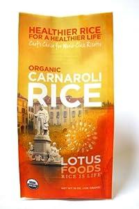 Lotus Foods Organic Carnaroli Rice, 15-Ounce Bag (Pack of 6)