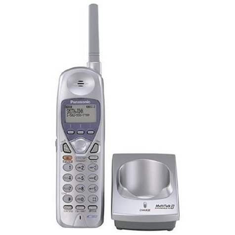 Panasonic KX-TGA270S 2.4GHz Extension Cordless Phone (Handset Only) (Panasonic Extension compare prices)