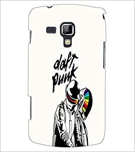 PrintDhaba Meaningful Text D-1196 Back Case Cover for SAMSUNG GALAXY S DUOS S7562 (Multi-Coloured)