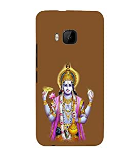 iFasho Lord Vishnu Back Case Cover for HTC One M9