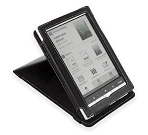 Cover-Up Sony PRS-650 Touch Edition Inversion Stand Leather Case - Black