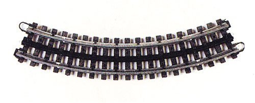 Lionel O Gauge K-Line Train Super Snap Curve Track - 31 pulgadas