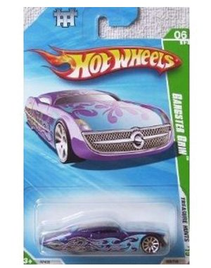 Hot Wheels Treasure Hunts 2010 Gangster Grin, 1:64 Scale. - 1