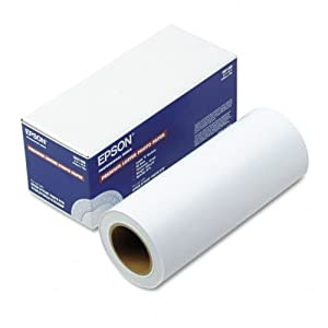 Epson S041408 Premium Luster Photo Paper 8.3 X 32.8 FT