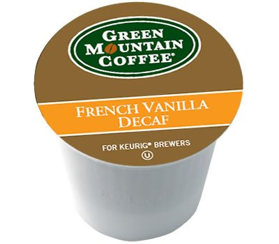 Green Mountain French Vanilla DECAF 96 K-Cups