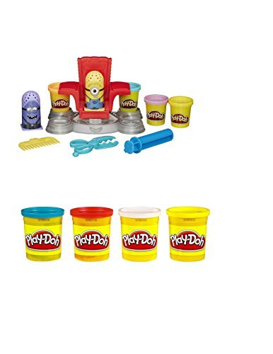 Play-Doh-Featuring-Despicable-Me-Minions-Disguise-Lab-with-Extra-Set-of-Play-Doh-4-Pack-Red-Yellow-White-Blue