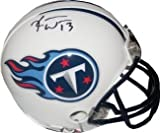 Kendall Wright signed Tennessee Titans Replica Mini Helmet- Wright Hologram Amazon.com