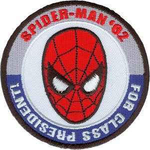 Spiderman For President Cartoon Embroidered Iron On Patch P3354