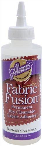 Aleene's Fabric Fusion Permanent Fabric Adhesive 4oz