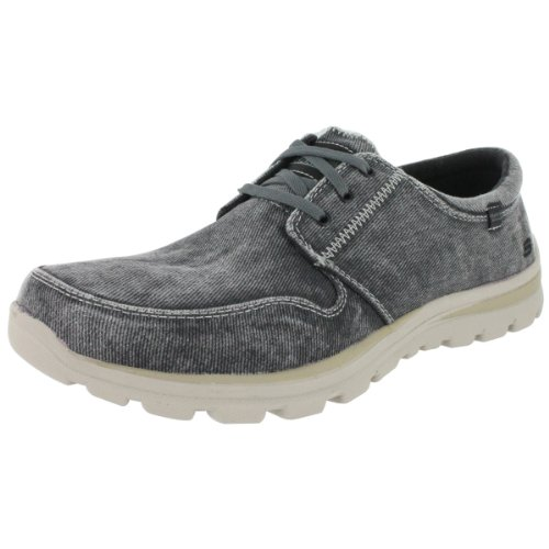 Skechers Men's Superior Elvin Casual Lace Up Shoe