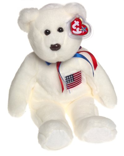 1 X Ty Beanie Buddies - Libearty the Bear