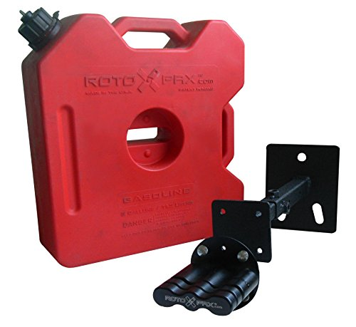 Olympic 4X4 Products 991-404 Texture Black Roto Pak Fuel Mounting Bracket (Spare Tire Fuel Tank compare prices)