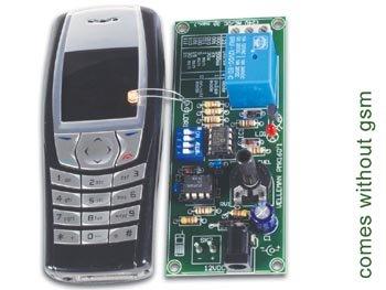 Velleman Mk160 Remote Control Via Gsm Mobile Phone