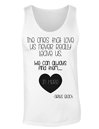 Sirius Black Quote About The Loved Ones Women's Tank Top Shirt Medium