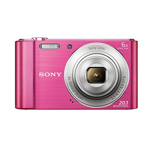 Sony-DSC-W810-Digitalkamera-201-Megapixel-6x-optischer-Zoom-12x-digital-68-cm-27-Zoll-LC-Display-26mm-Weitwinkelobjektiv-SteadyShot-schwarz