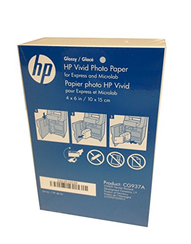 HP 4×6 Glossy Vivid Photo Paper 900 Sheets CG937A Borderless
