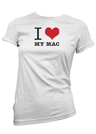 I Love My MAC T-Shirt women - Small