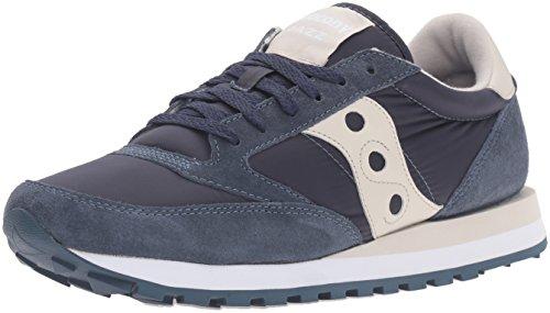 Saucony sneakers da uomo in camoscio/tessuto col. Blu